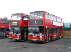GAL PVL59 W459WGH - PVL362 PJ53SOE - BX BEXLEYHEATH BUS GARAGE - SAT 19TH MAR 2016 (Bexleybus) Tags: bus london ahead volvo kent garage president go learner bexleyheath bx goahead plaxton pvl59 w459wgh pvl362 pj53soe
