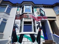 House Art (Darren-Holes) Tags: streetart colour art sussex vivid pinkfloyd thewall anotherbrickinthewall