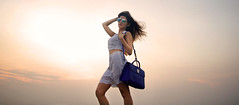 Shilpa Ahuja | Summer Sunset: A Casual Outfit with Dior Ready to Wear (shilpaahujadotcom) Tags: pink sunset summer orange white me sunglasses fashion evening fashionphotography makeup style casual shorts summerdress rtw fashionshoot dior readytowear ladscape 2016 summerfashion streetstyle croptop ss16 summerlook summeroutfit bluehandbag diorbag diormakeup casualoutfit summerstreetstyle springsummer2016 shilpaahuja shilpaahujadotcom diorsplit diorever