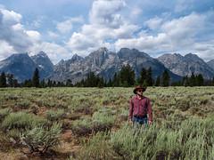 Cowboy Up! (paulorv83) Tags: mountains cowboy wyoming grandtetons
