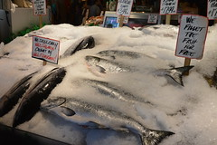 Pike Place Fish Market 2 (18) (Tommy Hjort) Tags: seattle travel usa fish market pikeplacemarket fishmarket fisk marknad