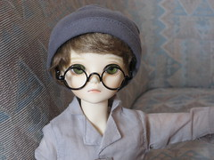 Time for Adventure 002 (EmpathicMonkey) Tags: toby ball toys happy monkey photo dolls olive story bjd jointed bluefairy