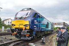 Direct Rail Services 68025 (Midland Red FanBoy) Tags: travel england train trains transportation severnvalleyrailway kidderminster passengertrains directrailservices severnvalleyrailwayspringdieselgala