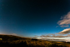Blanket of Stars (Tyrone Williams) Tags: longexposure sky mountains classic night clouds canon dark stars 5d brecon 3200iso