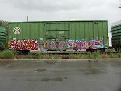 09-01-10 (11) (This Guy...) Tags: road railroad car train graffiti box graf rail rr traincar boxcar graff 2010