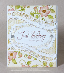 Just Thinking about you card_1 (Nupur Creatives) Tags: heartfelt creations heartfeltcreations
