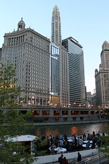 Networking (Flint Foto Factory) Tags: city cruise light urban chicago reflection industry water beautiful work buildings fun evening boat illinois spring downtown tour dusk michigan may lakemichigan event networking after chicagoriver pm avenue thursday hospitality wendella preferred concierge 2016 feelsgood 400nmichiganave