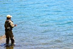 Lake Chuzenji - fishing (louisemarston) Tags: lake japan nikko lakechuzenji nikkonationalpark
