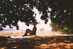 untitled. (rwed) Tags: ocean trip travel sea film beach latinamerica nature analog puerto island costarica viejo isla yashica