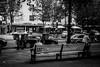 Enjoy the lonleyness (TheKrippi) Tags: street old city summer people blackandwhite bw sun berlin bench relax blackwhite alone streetphotography single enjoy kudamm lowkey runningaway pensioner