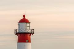 Lighthouse / Vuurtoren (steenbergendaniel) Tags: sunset lighthouse zonsondergang noordzee zeeland northsea vuurtoren westkapelle zeedijk walcheren canonef300mmf4lisusm noorderhoofd canoneos6d lagelicht lovezeeland