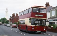 2000-07-05 FBZ 2932 (SXG 49H) Leyland Atlantean-Northern Counties (rebody) 932 of East Yorkshire,  Withernsea (John Carter 1962) Tags: lighthouse bus buses eastyorkshire leylandatlantean eyms clevelandtransit
