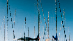 We will set sail at dawn (paulstewart991) Tags: abstract sailboat reflections dawn sailing harbour canadian thornbury canon70d