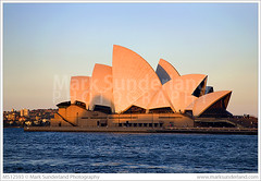 Sydney Opera House at Sunset ( Mark Sunderland www.marksunderland.com) Tags: travel sunset architecture waterfront dusk sydney australia newsouthwales operahouse modernarchitecture touristattraction sydneyharbour sydneyoperahouse