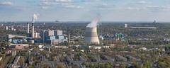 Kraftwerk Reuter West (phreekz.chmee) Tags: berlin germany fromabove kraftwerk luftbild vonoben