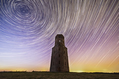 Horton Stars (Attila Pasek) Tags: light sky tower night stars horton stacked wimborne polution longexposuretime startrail