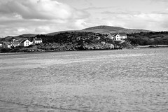 BWJPG---IMG_6443 (r4ytr4ce) Tags: ireland blackandwhite beach landscape 50mm boat eire donegal ire trchonnaill