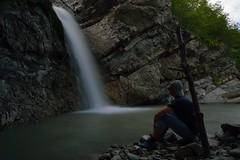 Selfie di seta (mttdlp) Tags: cascate falls trekking perino water landascape trebbia appennino d3200 natura