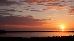 Sunrise from Oxwellmains - Scottish Coast (Gilli8888) Tags: sunrise torness dunbar scotland coast coastline sun sea seaside clouds oxwellmains ship reflections scottishcoast
