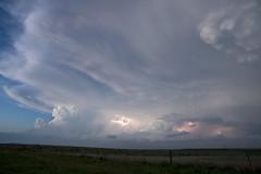 Evening updrafts (ianseanlivingston) Tags: texas thunderstorm lightning stormchasing weather panhandle