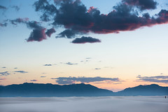 One (jfusion61) Tags: new sunset white mountain mountains scale monument clouds mexico evening nikon dunes national sands 70200mm d810