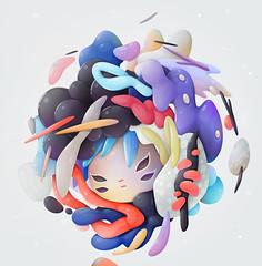 bubblegum ( -  zutto) Tags: zutto vector bubblegum character