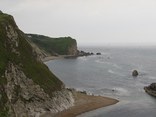 West Lulworth: Man O'War Bay and St Oswald's Bay (Dorset)