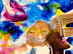 Chaman - Shaman - 20160614_IMG_3318 (_Loaf_) Tags: streetart art animal ink watercolor painting stuffed acrylic arte contemporaryart contemporary pastel kunst buddhism oil loaf psychedelic shaman mystic wallpaint chaman taoism brigade oilpastel guache humanism artasfood loafes stuffedanimalbrigade buttermilkloaf loafart