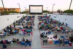 Rooftop Cinema Series 2016 (South Lake Avenue) Tags: people lake cinema film rooftop night outdoor south events crowd series pasadena avenue screening