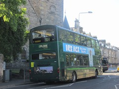 Xplore Dundee 7004 SP54CHJ City Rd, St Andrews on MD4 (1) (1280x960) (dearingbuspix) Tags: schoolbus nationalexpress 7004 nationalexpressdundee sp54chj xploredundee