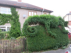 spriggy's spring trim (cleanskies) Tags: topiary chameleon spriggystardust spriggystardustthechameleonfromvenus