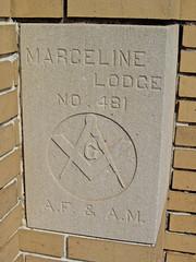Masonic Temple, Marceline, MO (Robby Virus) Tags: temple lodge masonic missouri masons fraternal organization afam marceline fremasons