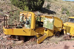 Gold King Mine & Ghost Town (USautos98) Tags: wayne streetsweeper