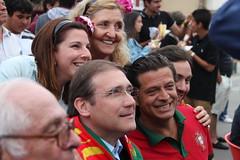 Pedro Passos Coelho em Esmoriz
