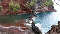 Red Sand(1) (NatePhotos) Tags: road sunset sea hawaii bay waterfall rainbow cows turtle maui hana jungle waterfalls kapalua rooster eel napili 2016 natephotos