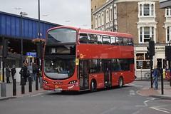 Go-Ahead London Wright Eclipse Gemini 3 bodied Volvo B5LH (WHV111 - BX14 TJV) Staff Shuttle (London Bus Breh) Tags: goahead goaheadgroup goaheadlondon thewrightgroup wrightgroup wrightbus wright wrighteclipsegemini3 gemini3 volvo volvobus volvob5l volvob5lh volvob5lhybrid whv whv111 bu14tjv 14reg london buses londonbuses bus busshuttle vauxhall vauxhallbusstation vauxhallstation tfl transportforlondon