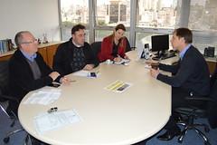 Secretrio com a candidata a prefeita de Novo Hamburgo (Lucas Redecker) Tags: sme novohamburgo secretrio lucasredecker
