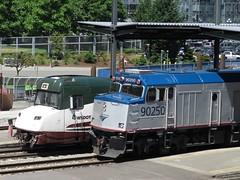 "Amtrak 7911 ""Mt. Bachelor"" Cascades Talgo (zargoman) Tags: train rail railraod travel transportation passenger transit car wagon transport amtrak seattle cascades talgo 8 npcu non powered control cab unit"