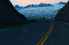 Thmpson Pass Alaska (*Ron Day*) Tags: alaska sunrise panasonic valdez richardsonhighway thompsonpass fz1000