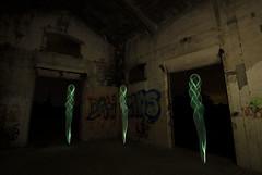 nimas/ Souls (Santi Salinas) Tags: lightpainting souls spain ruins alone ruinas navarra oneshot abandonedplaces nimas rurex pinturadeluz