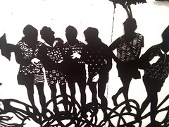 MBosley_LostBoysdetail6 (TheWayThingsWere) Tags: silhouette paperart silhouettes papercut papercuts papercutting mollybosley