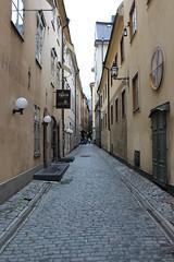 Yxsmedsgrnd Street in Gamla Stan (pegase1972) Tags: street europe sweden stockholm gamlastan scandinavia