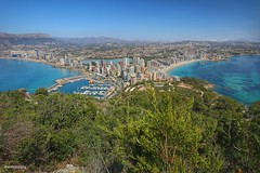 Calpe, Alicante,Spain. (rrnavero) Tags: mar spain alicante panoramica campo montaa pueblos calpe airelibre ifach pen canoneos6d canon1635lf4is jesusmariamartin