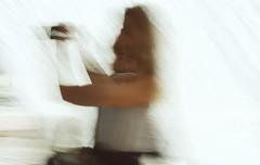 (her) selfie i-motion (petitillusion) Tags: icm blur urban people