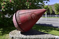 Monument - Marine Dept. Canada 1896 (D70) Tags: canada marine bc victoria dept 1896 munument