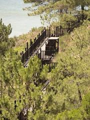Treppen zur Bucht (esseffdeearr) Tags: portugal algarve olhos dagua riu guarana praia da falesia albufeira portimao vacation