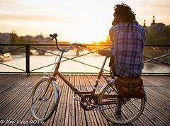 Sunset from pont des arts (rmaka) Tags: sunset paris centre pontdesarts quaisdeseine d600 2016mai