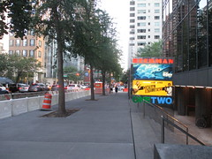Beekman Theater - first time without a construction fence since forever 1477 (Brechtbug) Tags: ocean new york city nyc sea fish streets film water june fence computer movie poster marquee construction theater finding time theatre first disney since line billboard lobby 2nd story pixar animation billboards forever animated aquatic avenue without dory between based marquees the 66th beekman standee 67th 06182016