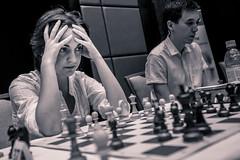 20160617_almaty_blitz_day1_alina_lami_0212 (davidllada) Tags: blackandwhite bw blancoynegro netherlands monochrome blackwhite chess romania kazakhstan echecs alina almaty ajedrez lami sjakk eurasia xadrez schaken 2016 schach  szachy satran kazajistan presidentsblitzcup shakhmardanyessenovfoundation