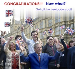 Brexit -now what? (Hakon07) Tags: england people freedom britain politics flags politicians ukip nigelfarage brexit congratulationbrexit